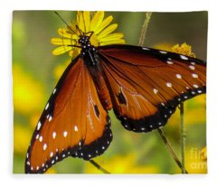 Butterfly 1 Fleece Blanket