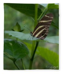 Butterfly 2 Fleece Blanket