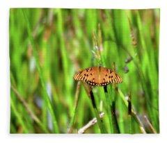 Butterfly Dream Fleece Blanket