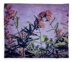 Butterfly Fantasy Fleece Blanket