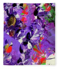 Butterfly Island Treasures Fleece Blanket