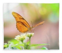 Butterfly - Julie Heliconian Fleece Blanket