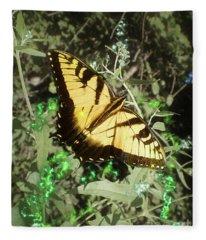 Butterfly Magic Fleece Blanket