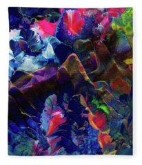 Butterfly Mountain Fleece Blanket