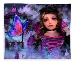 Butterfly Queen Fleece Blanket