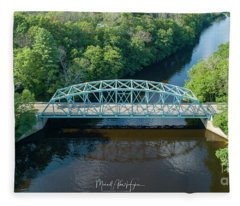 Butts Bridge Summertime Fleece Blanket