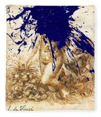 By Da Vinci Fleece Blanket