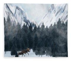 By My Side Fleece Blanket