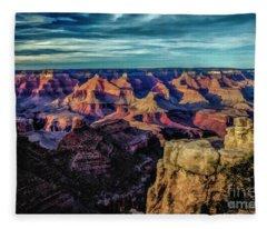 By The Dawns Early Light Fleece Blanket