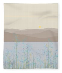 By The River Fleece Blanket