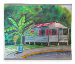 By The Road Fleece Blanket