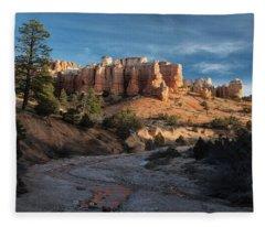 Byrce Canyon Sunrise Utah Fleece Blanket