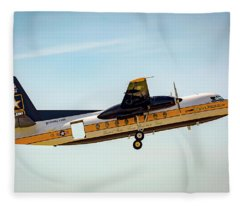 C31 Fokker Fleece Blanket