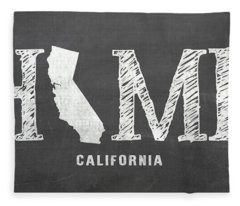 Ca Home Fleece Blanket