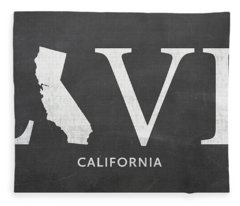 Ca Love Fleece Blanket