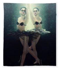 Cabaret Maldito Ballet Fleece Blanket