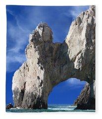 Cabo San Lucas Archway Fleece Blanket