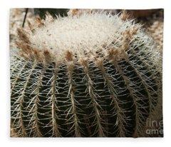 Cacti Fine Art Fleece Blanket