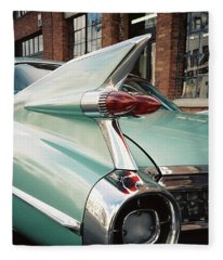 Cadillac Fins Fleece Blanket