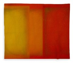 Cadmium Lemon Fleece Blanket
