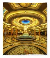 Caesar's Grand Lobby Fleece Blanket