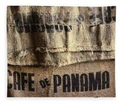 Cafe De Panama Fleece Blanket