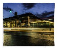 Cafe Du Monde, New Orleans, Louisiana Fleece Blanket
