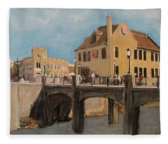 Cafe Hollander 1 Fleece Blanket