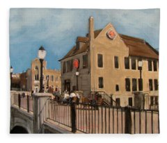 Cafe Hollander 2 Fleece Blanket
