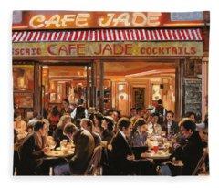 Cafe Jade Fleece Blanket