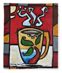 Cafe Palmera Fleece Blanket