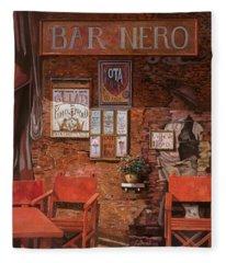 caffe Nero Fleece Blanket