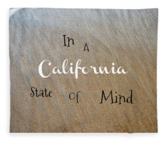 Cali State Of Mind Fleece Blanket