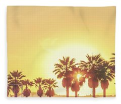 Cali Vibes Fleece Blanket