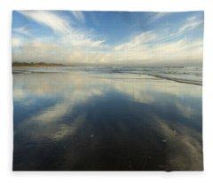 California Cirrus Explosion Fleece Blanket