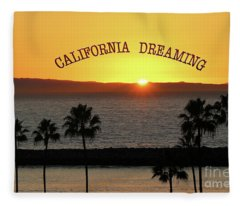 California Dreaming Fleece Blanket