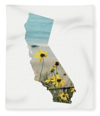 California Dreams Art By Linda Woods Fleece Blanket