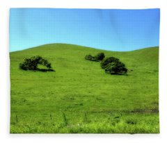 California Hills Fleece Blanket