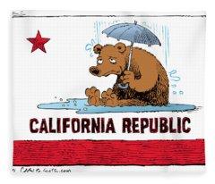 California Rain Fleece Blanket