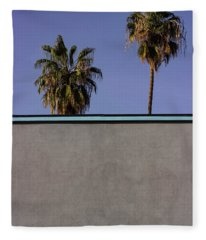 California Rooftop Fleece Blanket