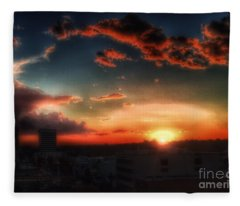 California Sky Fleece Blanket