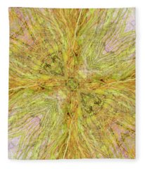California Spring Oscillation Gemstone Fleece Blanket