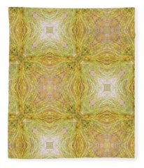 California Spring Oscillation Pattern Fleece Blanket