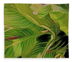Calla Flow 6 Fleece Blanket