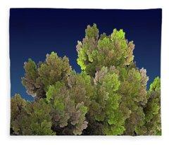 Callahan Grove Spring Fleece Blanket