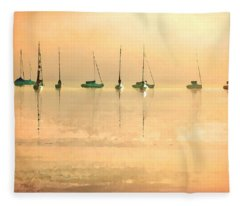 Calm Waters Fleece Blanket