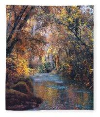 Calming Waters Fleece Blanket