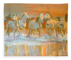 Camargue  Fleece Blanket
