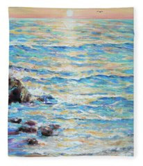 Cambria Rocks Fleece Blanket