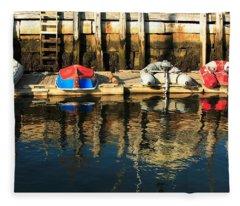 Camden Boats Fleece Blanket